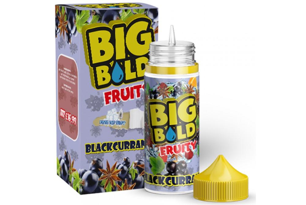 BLACKCURRANT 100ML - BIG BOLD FRUITY