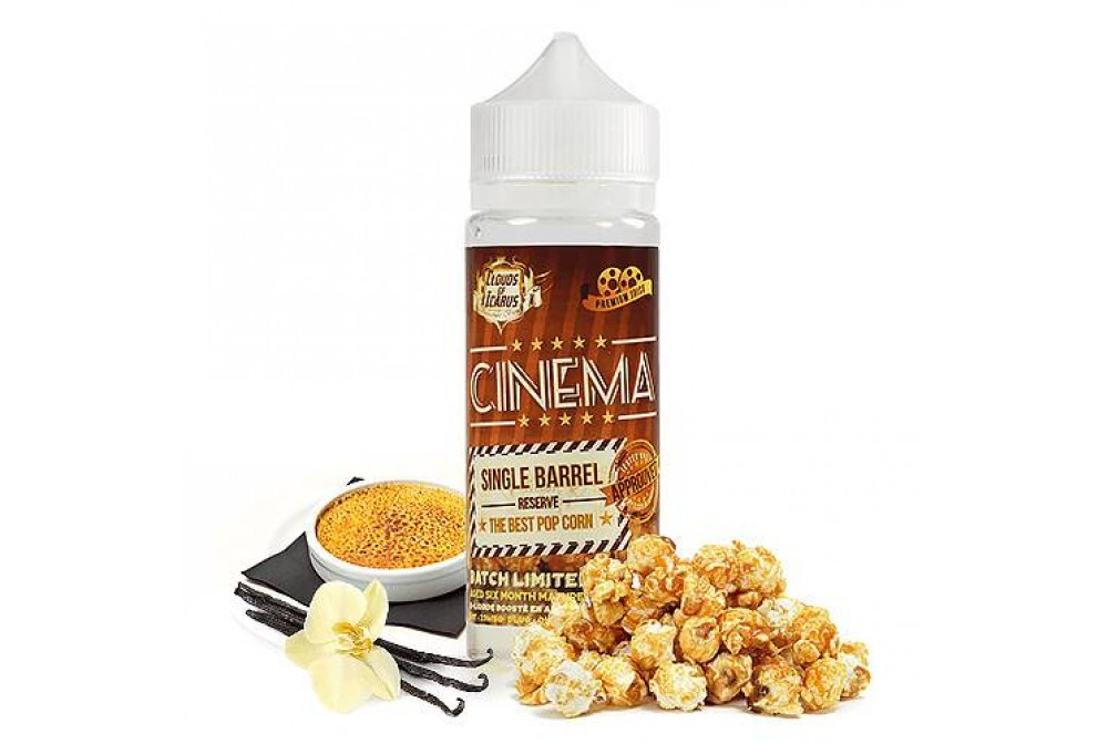 CINEMA RESERVE SINGLE BARREL 100ML - CLOUDS OF ICARUS