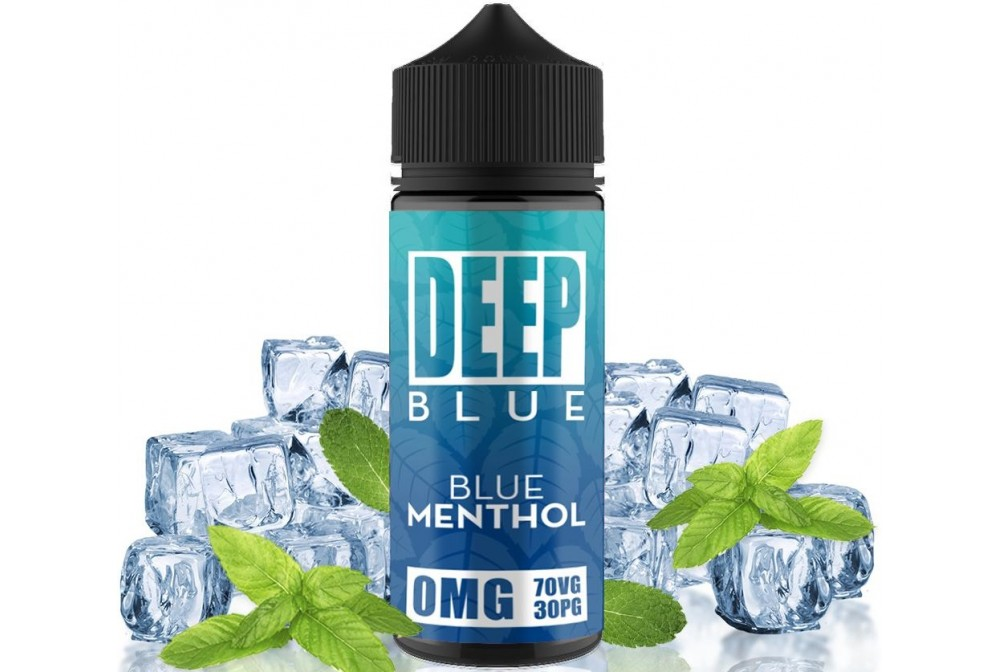 BLUE MENTHOL 100ML - DEEP BLUE