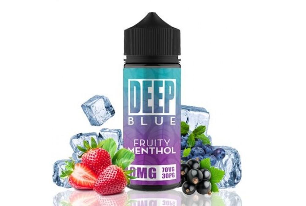 FRUITY MENTHOL 100ML - DEEP BLUE