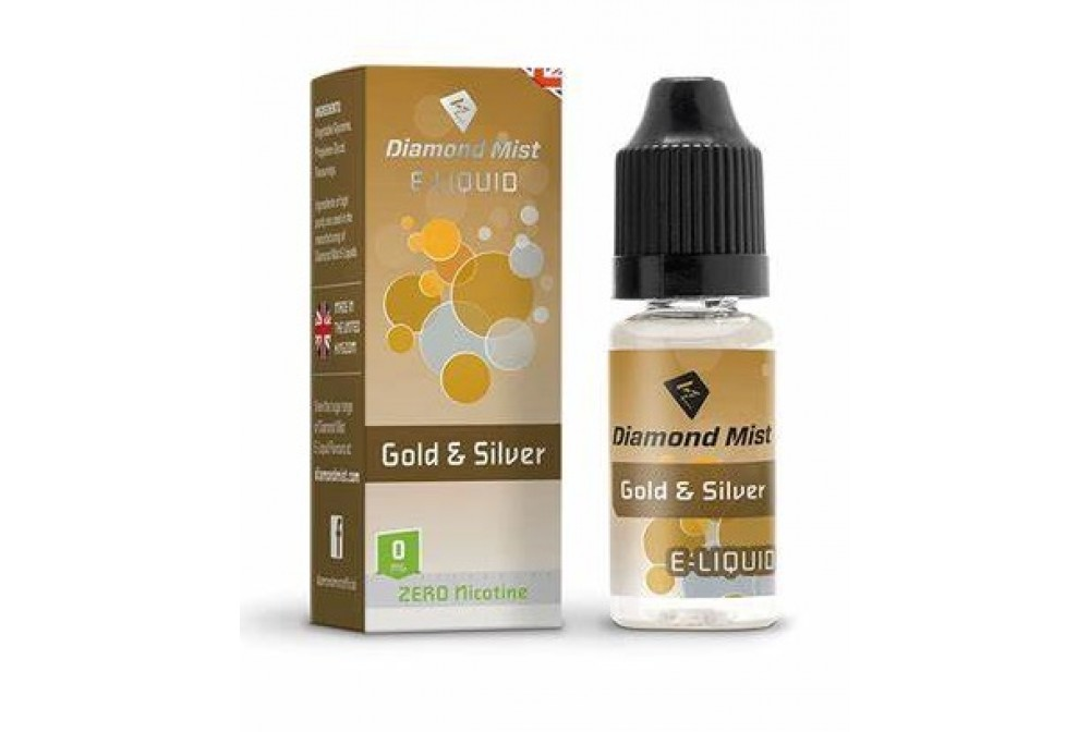 GOLD & SILVER 10ML 3MG - DIAMOND MIST
