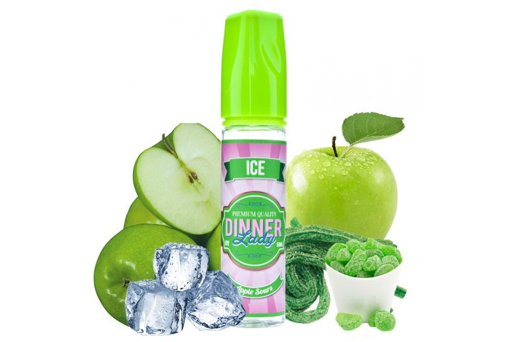 APPLE SOURS ICE 50ML - DINNER LADY