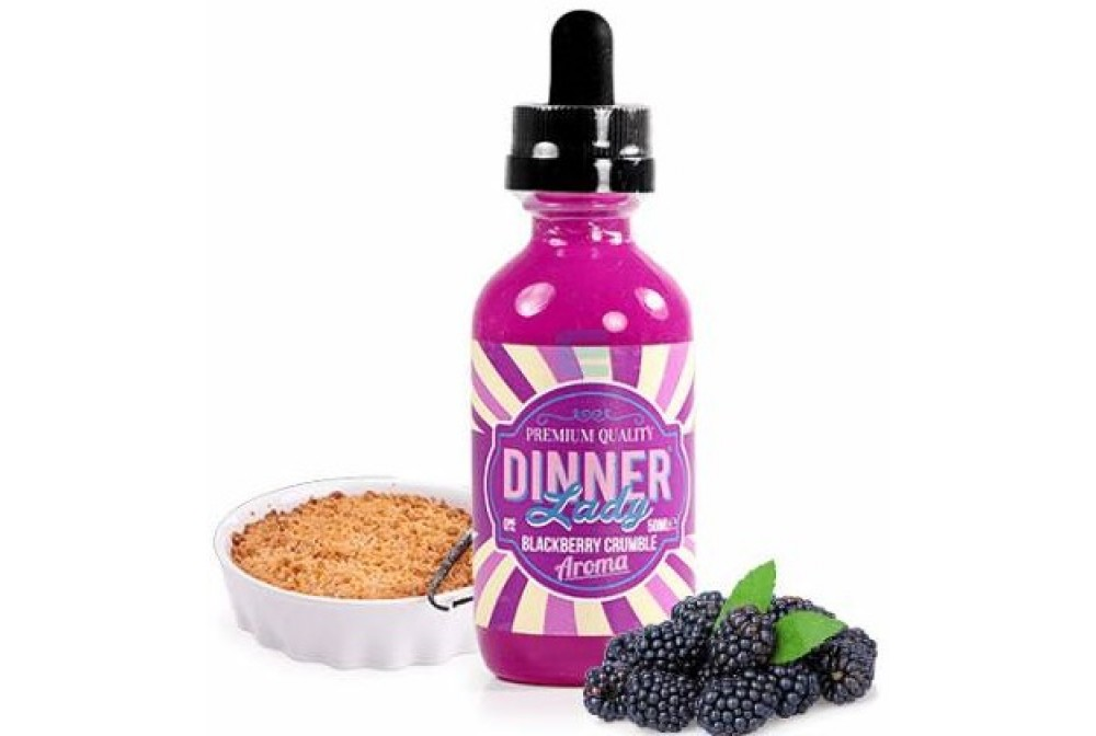 BLACKBERRY CRUMBLE 50ML TPD - DINNER LADY