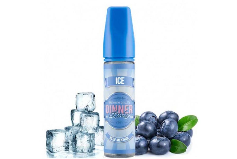 BLUE MENTHOL ICE 50ML - DINNER LADY