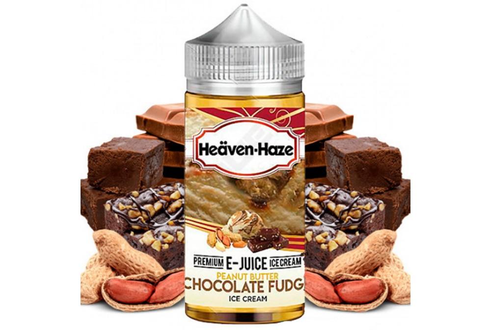 PEANUT BUTTER CHOCOLATE FUDGE 100ML - HEAVEN HAZE