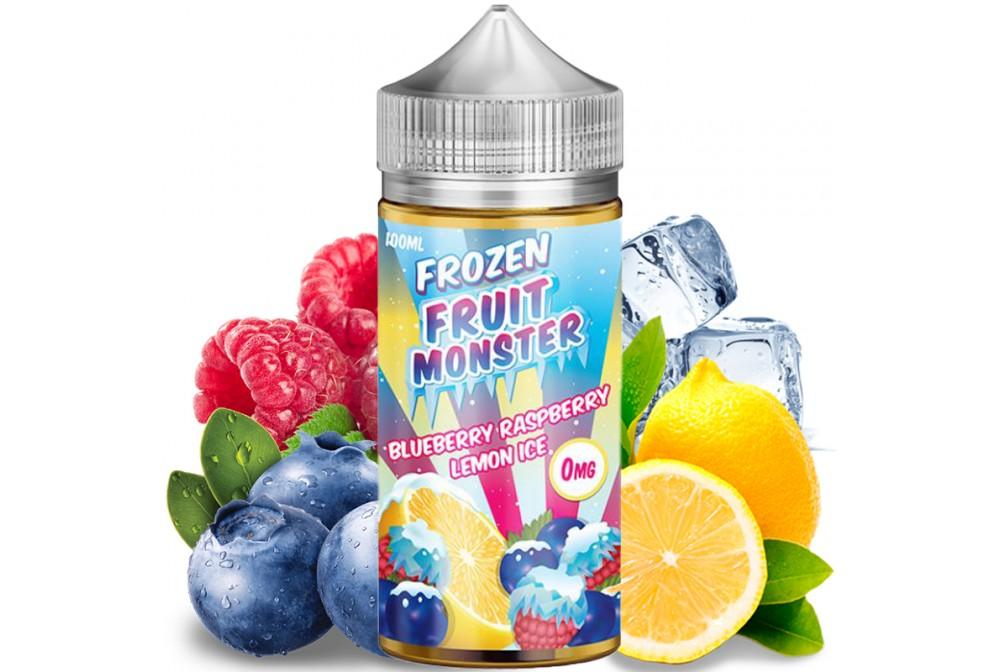BLUEBERRY RASPBERRY LEMON ICE - FROZEN FRUIT MONSTER