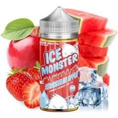 STRAWMELON APPLE 100ML - ICE MONSTER