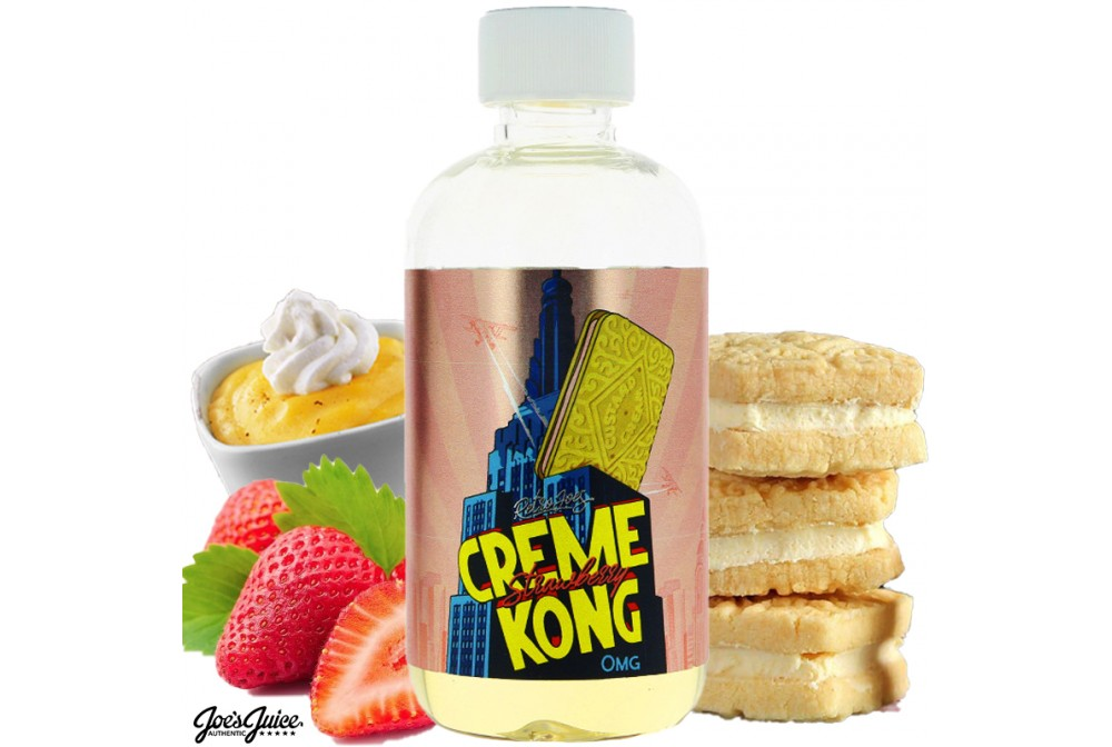 CREME KONG STRAWBERRY 200ML - JOES JUICE