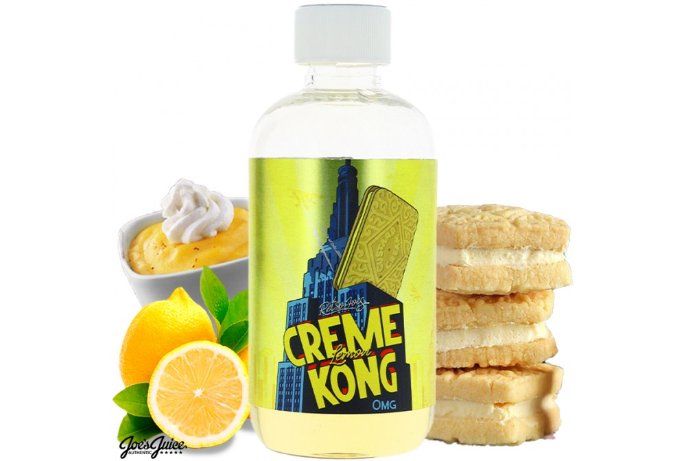 CREME KONG LEMON 200ML - JOES JUICE
