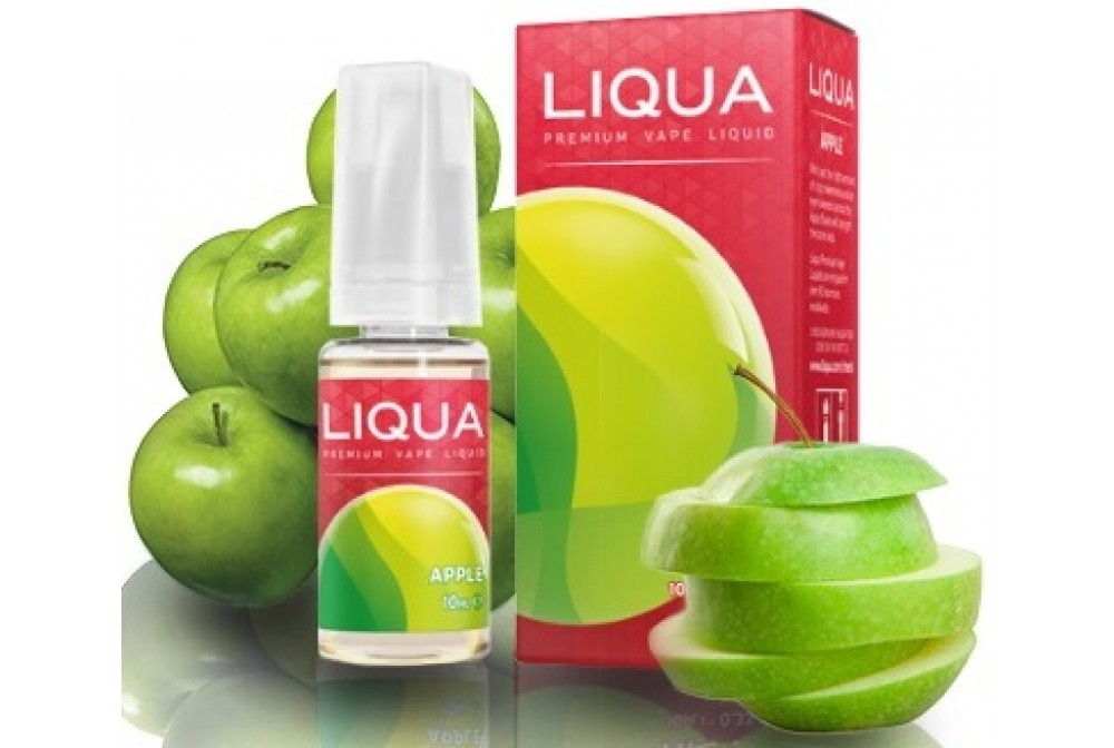 APPLE 10ML 0MG - LIQUA
