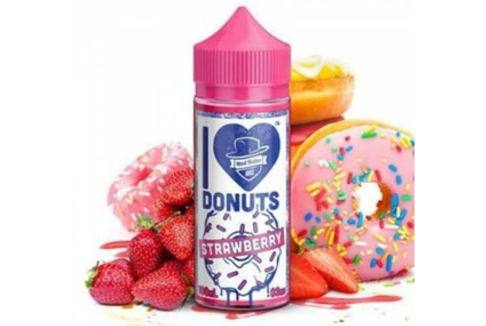 I LOVE DONUT STRAWBERRY 80ML TPD - MAD HATTER