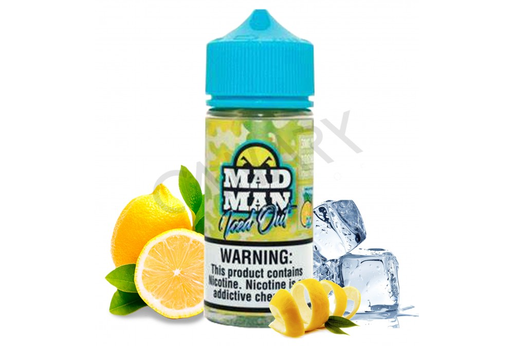 CRAZY LEMON ICE OUT 80ML - MAD MAN