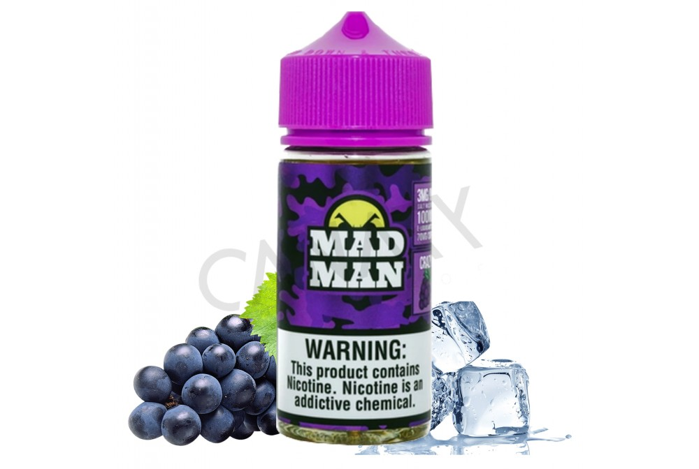 CRAZY GRAPE ICE OUT 80ML - MAD MAN