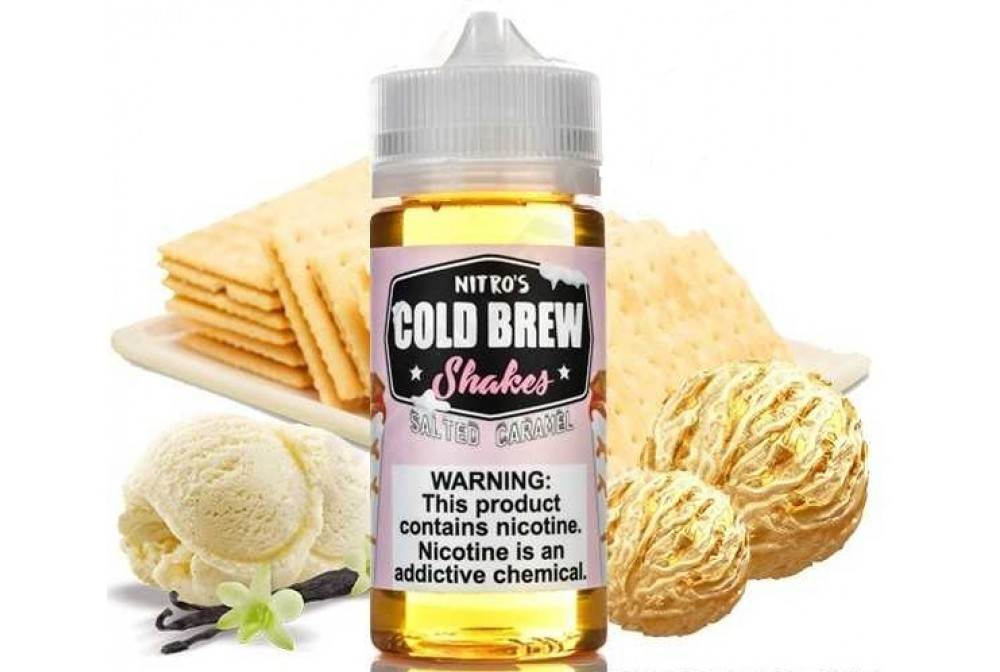 SALTED CARAMEL 100ML TPD - NITRO'S COLD BREW SHAKES