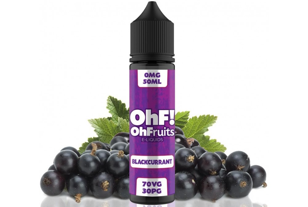 BLACKCURRANT 50ML - OH FRUITS