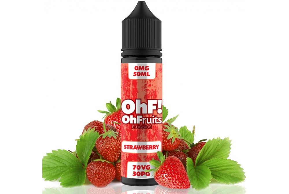 STRAWBERRY 50ML - OH FRUITS