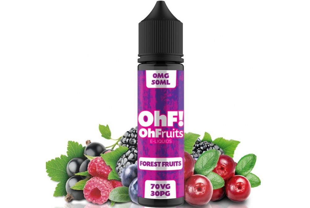 FOREST FRUITS 50ML - OH FRUITS