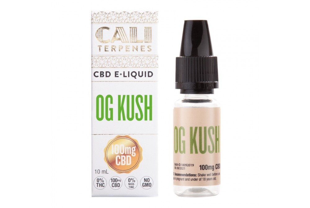 OG KUSH 100MG CBD E-LIQUID 10ML - CALI TERPENES