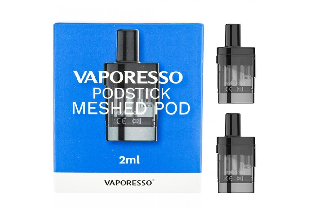 CARTUCHOS PODSTICK MESHED POD 0.6OHM (2 UDS) - VAPORESSO