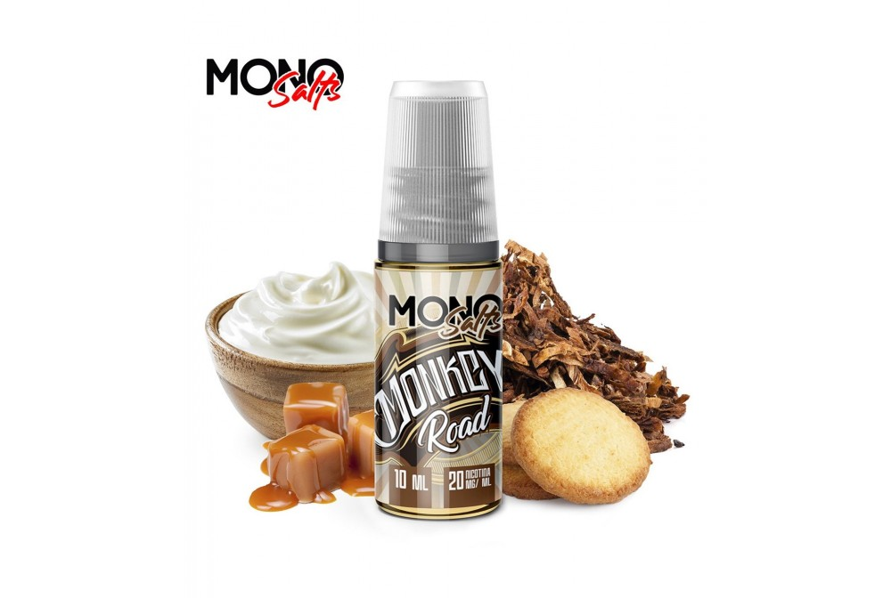 MONKEY ROAD 10ML 20MG - MONO EJUICE SALTS