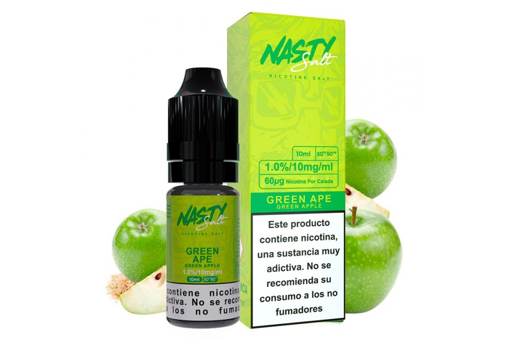 GREEN APE 20MG 10ML - NASTY SALT