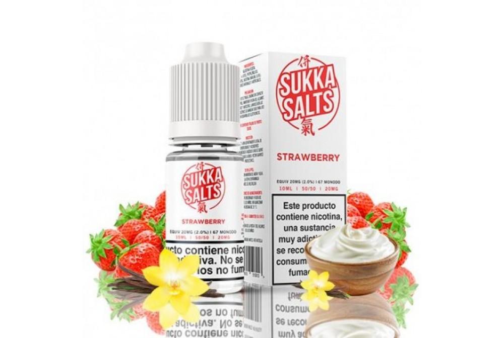 STRAWBERRY 10ML 10MG - SUKKA SALTS
