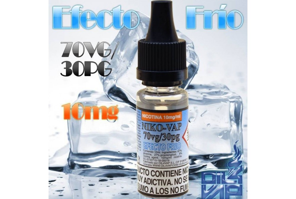 NIKOVAP 70VG/30PG ICED 10MG 10ML - OIL4VAP
