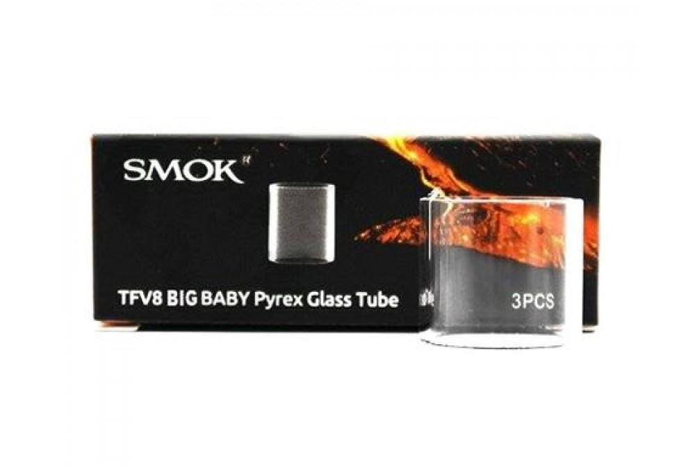PYREX TFV8 BIG BABY GLASS TUBE - SMOK