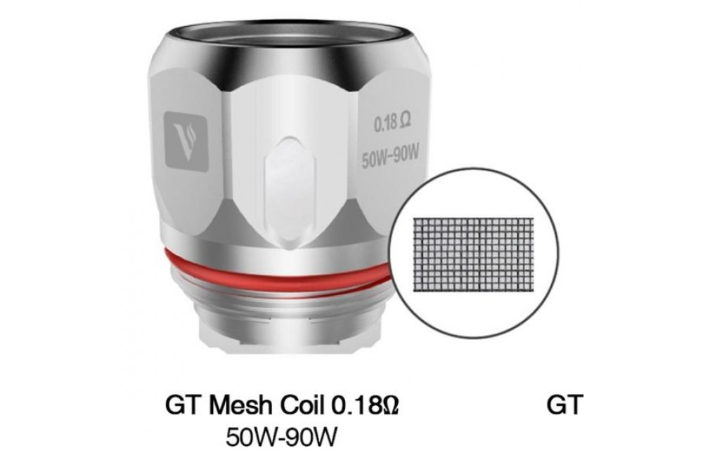 GT MESHED 0.18OHM - VAPORESSO