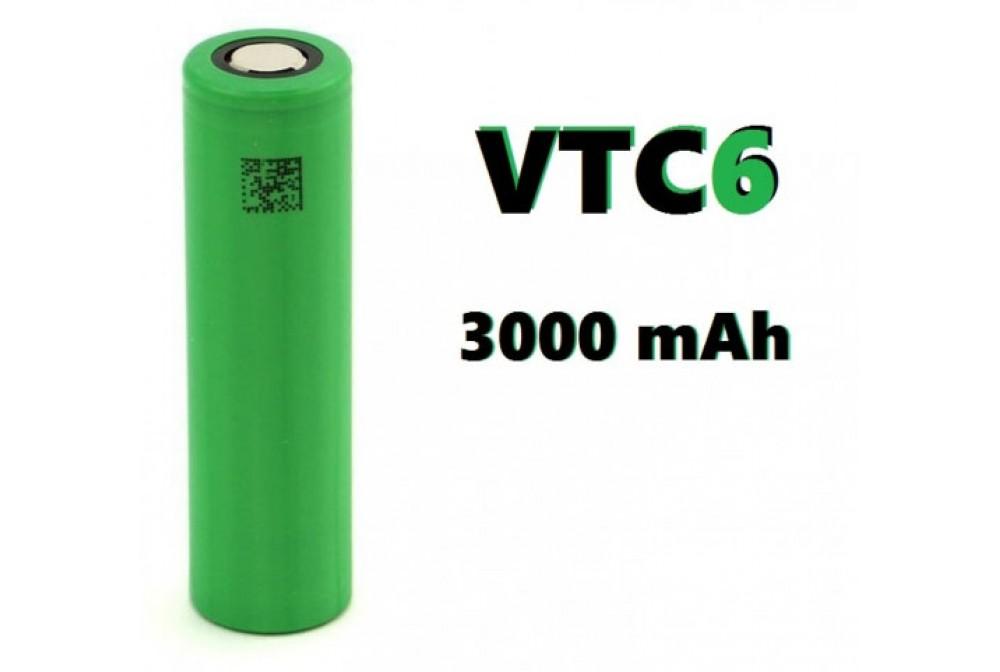 BATERIA SONY MURATA VTC6 18650 3000MAH 30A