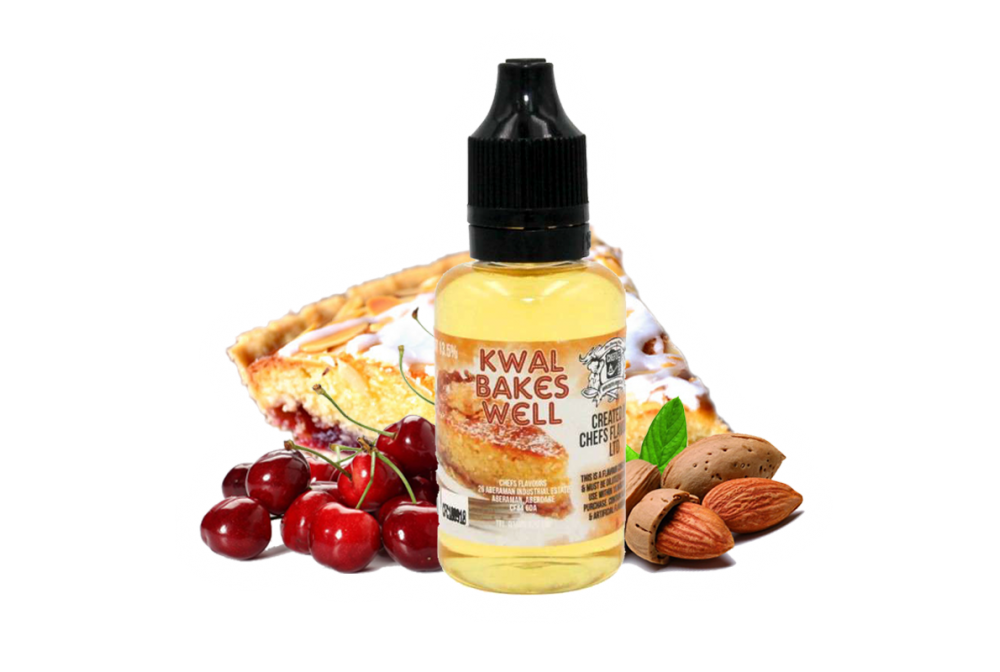 KWAL BAKES WELL FLAVOR 30ML - CHEFS FLAVOURS