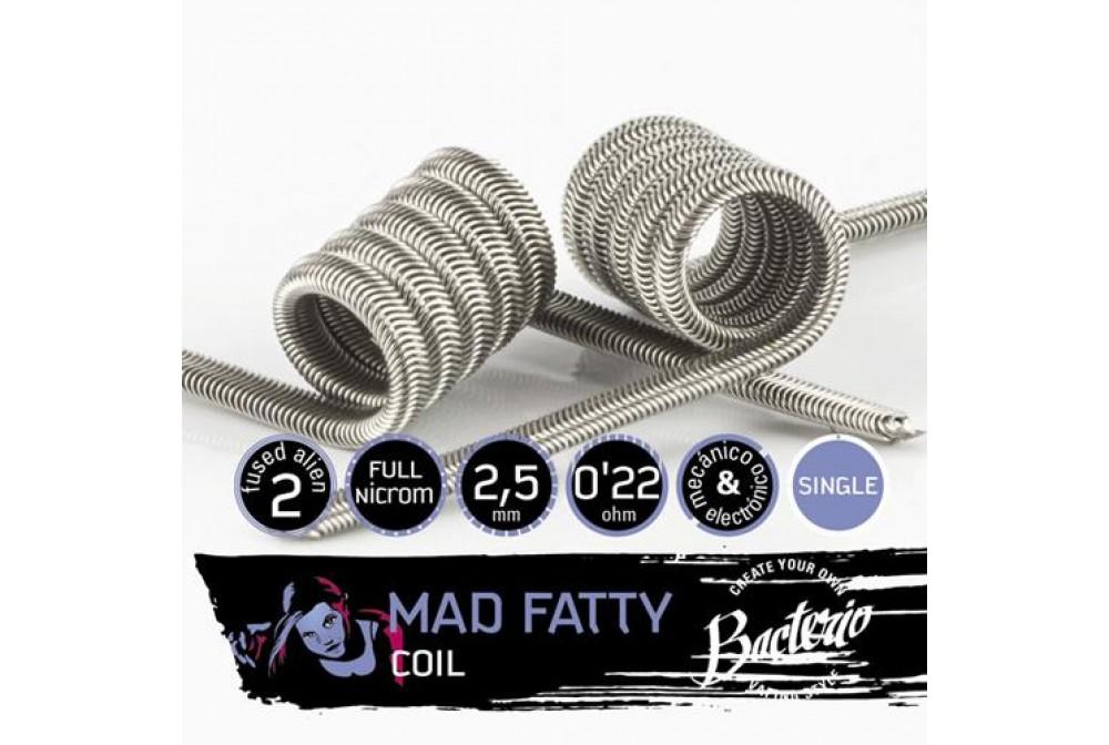 MAD FATTY SINGLE COIL 0.22 OHM - BACTERIO COILS